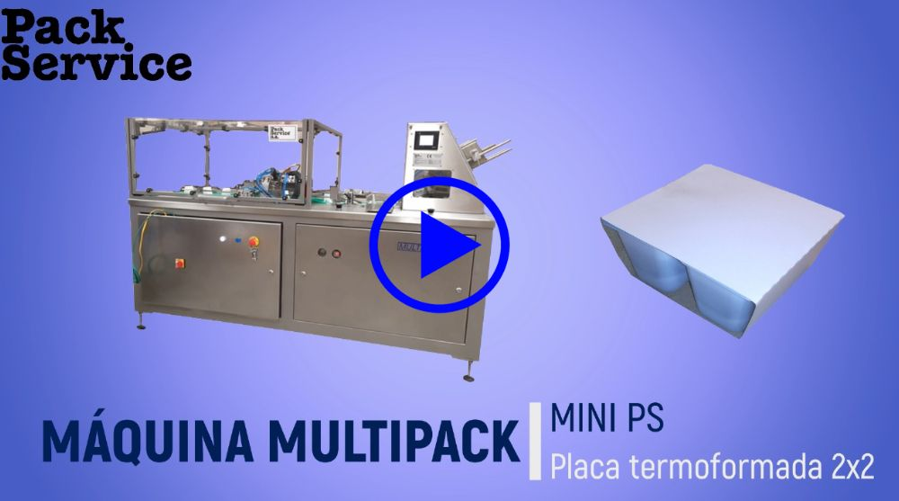 Pack Service installe une nouvelle machine multipack MINI PS en Algiers
