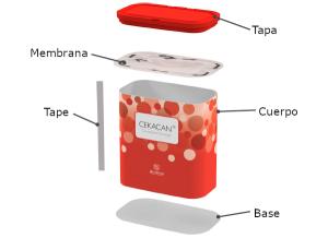 componentes cekacan