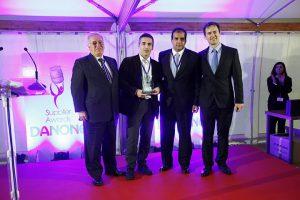 Danone suppliers awards entrega