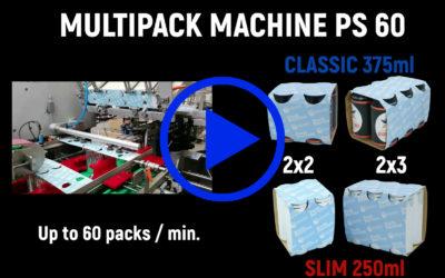 Nouvelle Machine Multipack PS 60 installée en Australie
